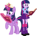 Twilight sparkle and twilight sparkle by hampshireukbrony-d6mkmmg.png