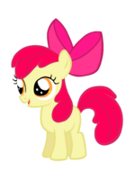 Apple Bloom by McAwesomeBrony