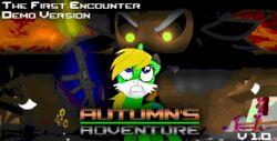 Autumn's Adventure title screen
