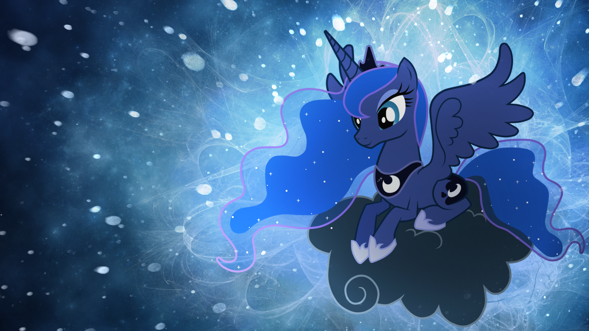 Image  Princess Luna wallpaper by artistovermarepng  My Little