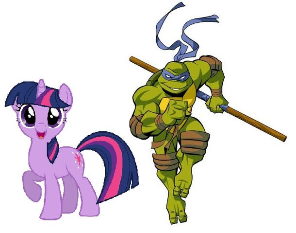 File:Donatello and Twilight Sparkle.jpg