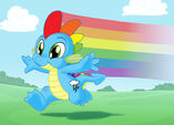 The new Rainbow Dash by tompreston