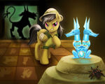 Daring Do and the Quest for the Sapphire Stone by LaurenMagpie