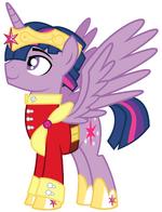 Alicorn Dusk Shine by EvilFrenzy