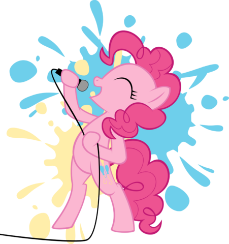 File:Pinkie Pie holding the microphone.png