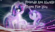 Friends are always there for you by nyanchibikitten