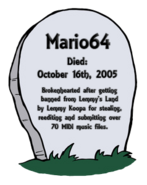 Mario64grave