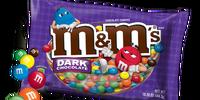 Dark Chocolate M&Ms