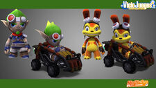 ModNation Racers Jak and Daxter