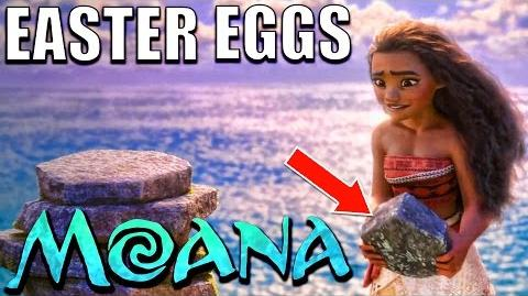 30 Easter Eggs of MOANA You Didn't Notice