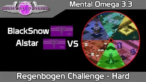 Mental Omega 3.3.1 - Regenbogen Challenge on Hard Difficulty