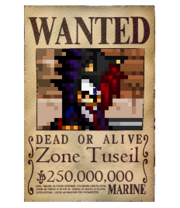 Zone's Wanted Poster