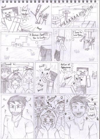 File:Minecraft manga series 1 mob talker series by kgelitez-d5erm0h.jpg