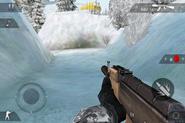 Silenced AK 47 FP