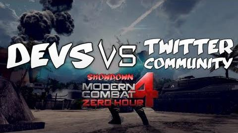 Modern Combat 4 Devs vs Community w Live Comm FT
