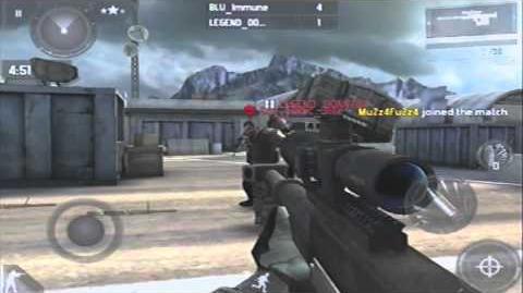 MC3 KR600 Sniper Rifle Online Gameplay!!