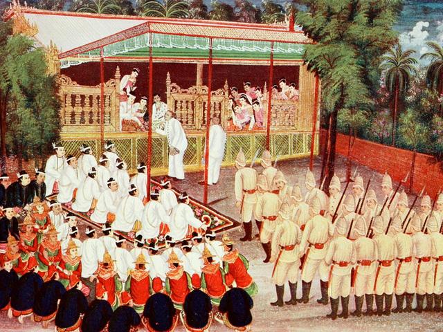File:Saya Chone's 'Abdication of King Thibaw'.png