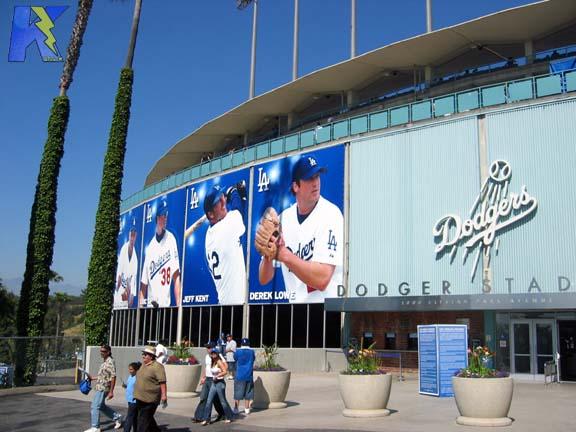 File:Dodger stadium entrance.jpg