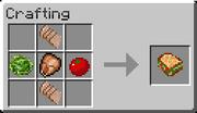 Crafting Chicken Sandwich
