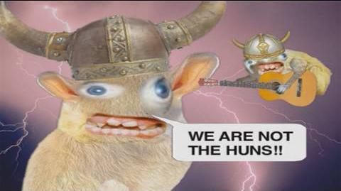 Quiznos Spongmonkeys - Huns! In HD!