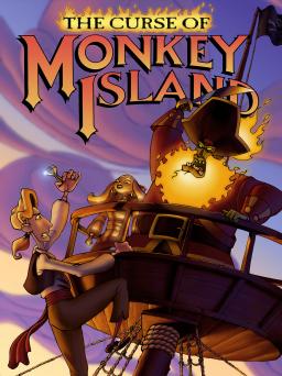 The Curse of Monkey Island artwork