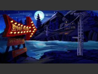 Secret of Monkey Island Special Edition Screenshot Hook Isle