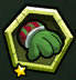 Green Comfy Mittens