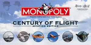 Monopoly Century of Flight box