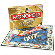 Monopoly 007 50th Anniversary Edition box