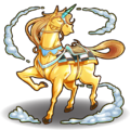 854 Light Unicorn Horse D BMG