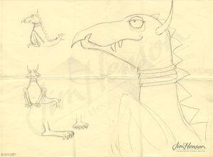 GSCS 3443 LittleDragonFrackleSketch