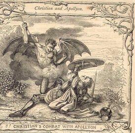 Christian and apollyon