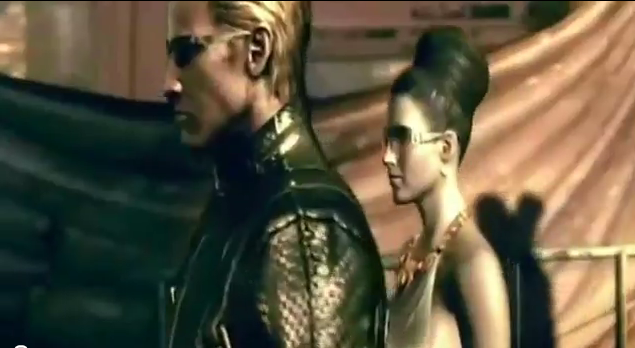 File:Wesker With Excella.png
