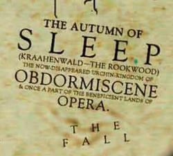 Autumn of Sleep