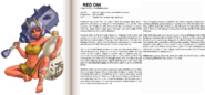 Red Oni book profile