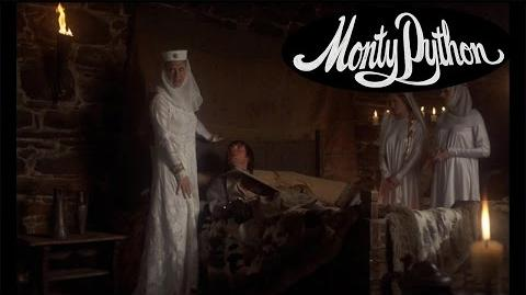 Sir Galahad in Castle Anthrax - Monty Python and the Holy Grail