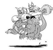 Tamamo and Giganto
