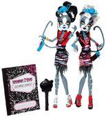 Doll stockphotography - Zombie Shake Purrsephone and Meowlody I