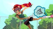 Join the Scream - Toralei plays tennis
