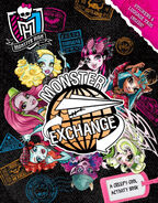 Monster Exchange The Creepy Cool Activity Book
