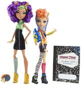 Doll stockphotography - Campus Stroll Clawdeen and Howleen