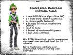 Facebook - Deuce's salad