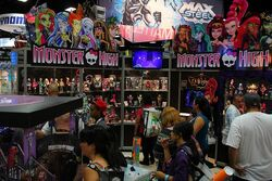 SDCCI 2013 - Monster High stand