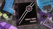 Friday Night Frights Title Card
