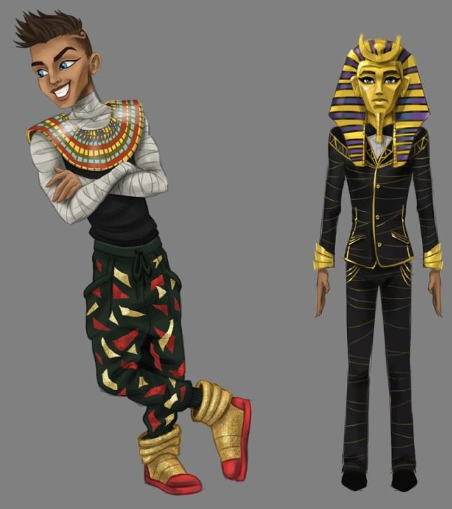 Seth Pharaoh Ptolemy Monster High Wiki Fandom