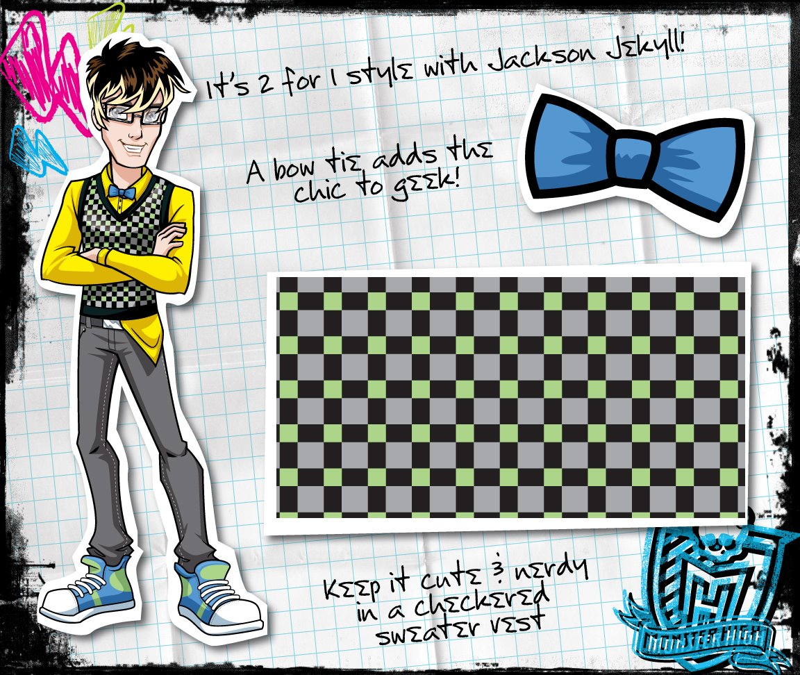 Category humans monster high wiki fandom powered by wikia - Monster high jackson ...