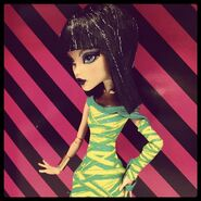 Diorama - Cleo's styling