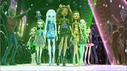 Venus, Frankie, Abbey, Deenie, Cleo, Lagoona and Lala