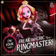 Diorama - Freak Du Chic ringmaster