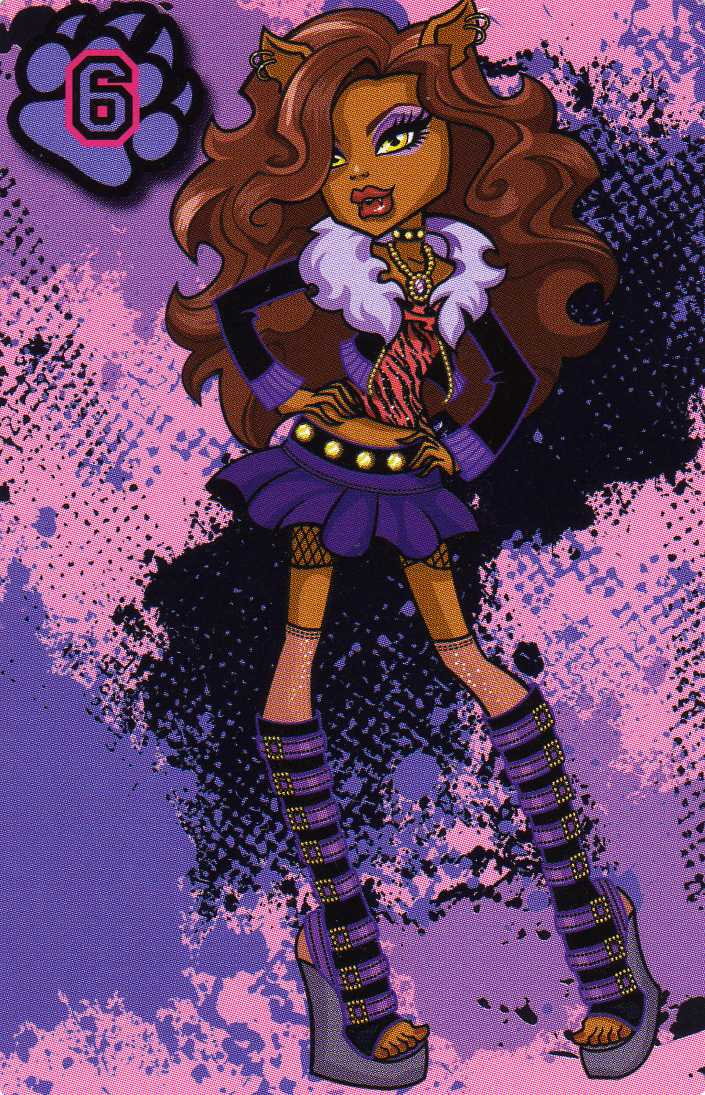clawdeen wolf merchandise monster high wiki fandom powered by wikia. Black Bedroom Furniture Sets. Home Design Ideas
